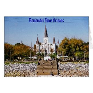 Cartes Rappelez-vous la cathédrale de St Louis à la