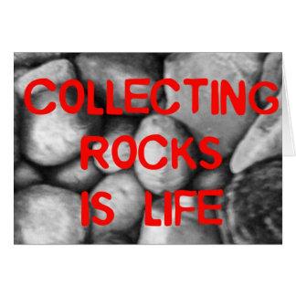 Cartes Rassemblement des roches