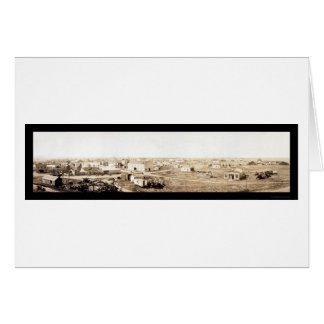 Cartes Rayon, photo 1914 du Dakota du Nord