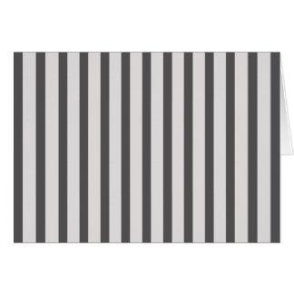 Cartes Rayures noir et blanc