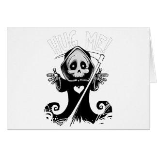 Cartes Reaper-bébé mignon de Reaper-bande dessinée de