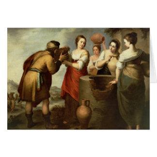 Cartes Rebecca et Eliezer au bien, c.1665
