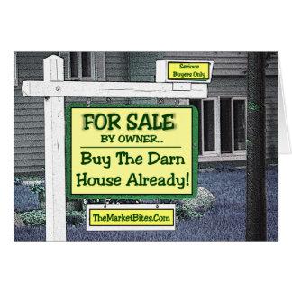Cartes Récession. .BUY d'immobiliers la MAISON de DARN
