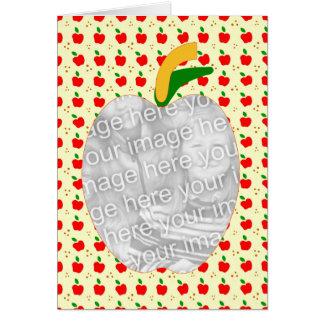 Cartes Recette de la tarte aux pommes de la grand-maman