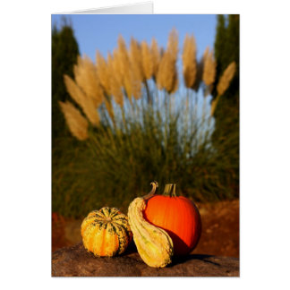 Cartes Récolte d'automne