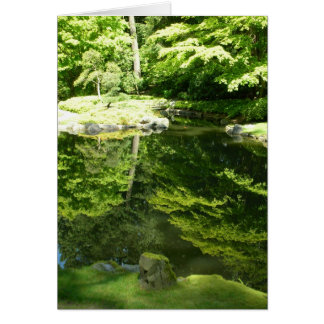 Cartes Réflexions au jardin de Nitobe