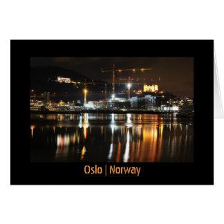 Cartes Réflexions de l'eau à Oslo, Norvège