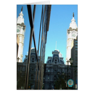 Cartes Réflexions de rue du marché