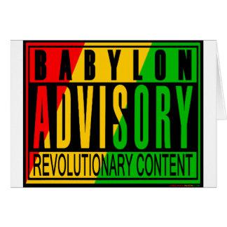 Cartes Reggae RASTA
