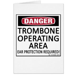 Cartes Région d'opération de trombone