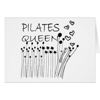 Cartes Reine de méthode de Pilates !