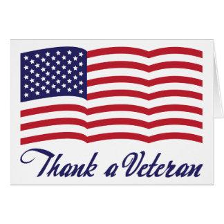 Cartes Remerciez un vétéran