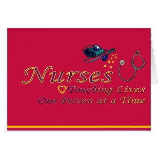 Cartes Remerciez une infirmière