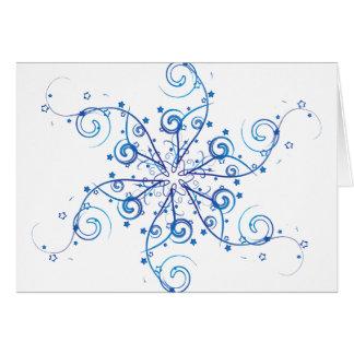 Cartes Remous de flocon de neige