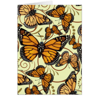 Cartes Remous de papillon de monarque