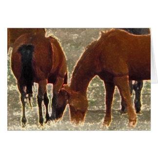 Cartes Remuda de bon seigneur Herd Friends dans le ciel