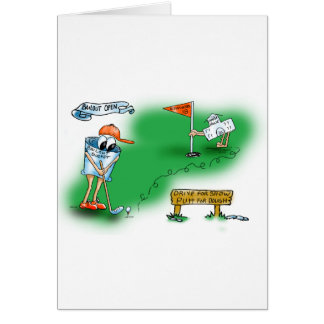 Cartes Renflouement ouvert - golf
