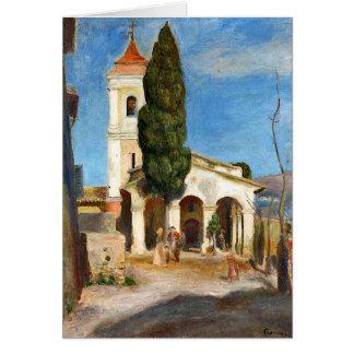 Cartes Renoir - chapelle de notre Madame de la protection