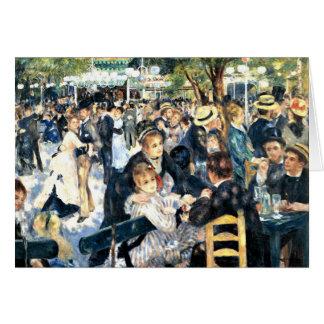 Cartes Renoir - danse à la La Galette de Le Moulin de