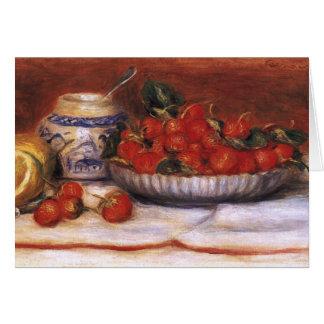Cartes Renoir : Fraises