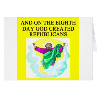 Cartes républicains creeated par dieu