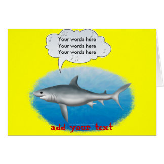 Cartes Requin de chant