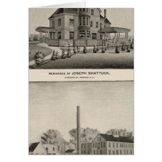 Cartes Résidence de Shattuck, moulins de McLane