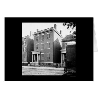 Cartes Residence du Général Lee à Richmond, VA 1865