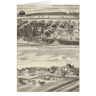 Cartes Résidences et résidences de ferme à Putnam Co