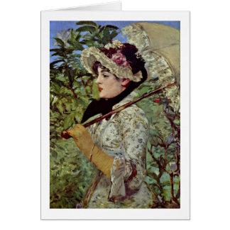 Cartes Ressort (Jeanne) par Edouard Manet