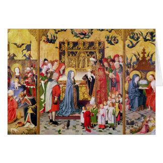 Cartes Retable des sept joies de la Vierge