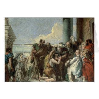 Cartes Retour du fils prodigue, 1780