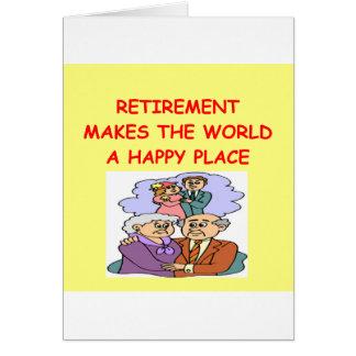 Cartes retraite