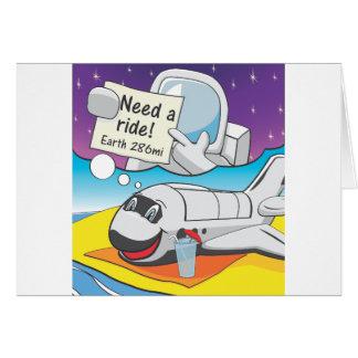 Cartes Retraite de navette spatiale