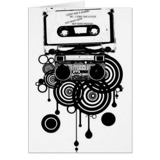 Cartes rétro cassette