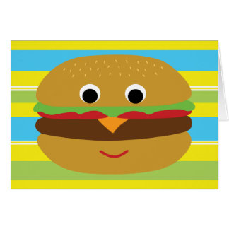 Cartes Rétro cheeseburger