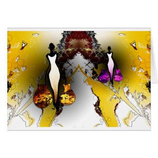 Cartes Rétros cadeaux vintages AF074 de style de