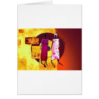 Cartes Rétros cadeaux vintages AF089 de style de
