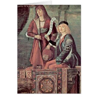 Cartes Réunion du fiancé par Vittore Carpaccio