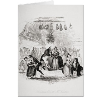 Cartes Réveillon de Noël à M. Wardle's
