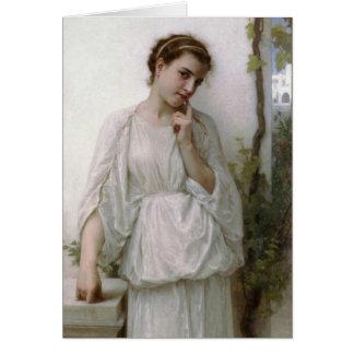 Cartes Rêverie - William-Adolphe Bouguereau