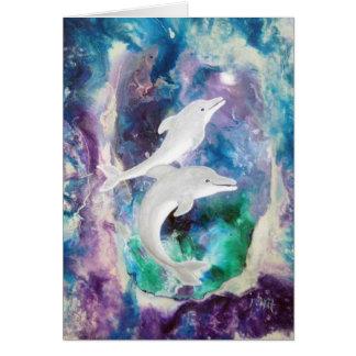 Cartes Rêves de dauphin