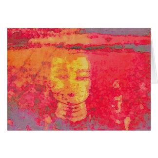 Cartes Rêves Tara dans les roses