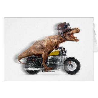 Cartes Rex de moto-tyrannosaurus-t de rex de T -