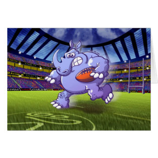 Cartes Rhinocéros de rugby