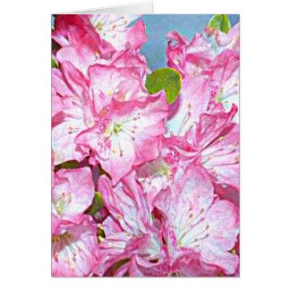 Cartes Rhododendron de côte de Washington