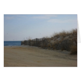 Cartes Rivage du Jersey * plage ramollie