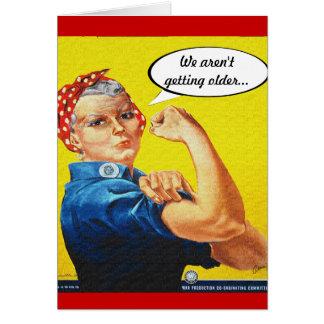 Cartes Rivoir de Rosie - anniversaire, nous ne