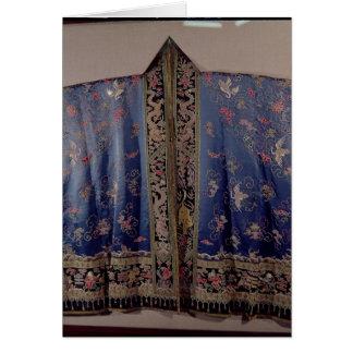 Cartes Robe longue de Taoist d'un temple impérial