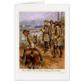 Cartes Robert E Lee chez Fredericksburg, VA 1862